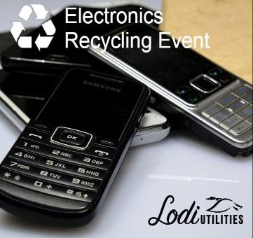 Lodi Utilities Electronics Recycling Event