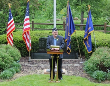 Speaker on Memorial Day