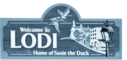 Welcome to Lodi - Home of Susie the Duck